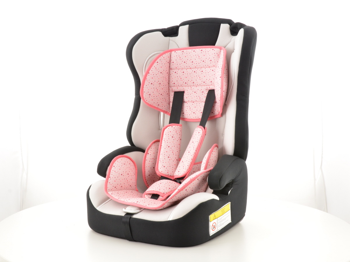 kinderautositz kindersitz autositz schwarz wei pink. Black Bedroom Furniture Sets. Home Design Ideas