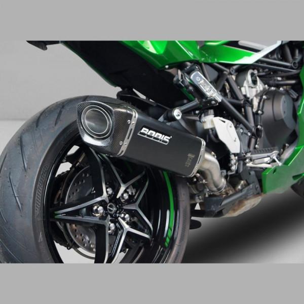 Bodis V4-M-CA Endschalldämpfer Kawasaki H2 SX 2018-