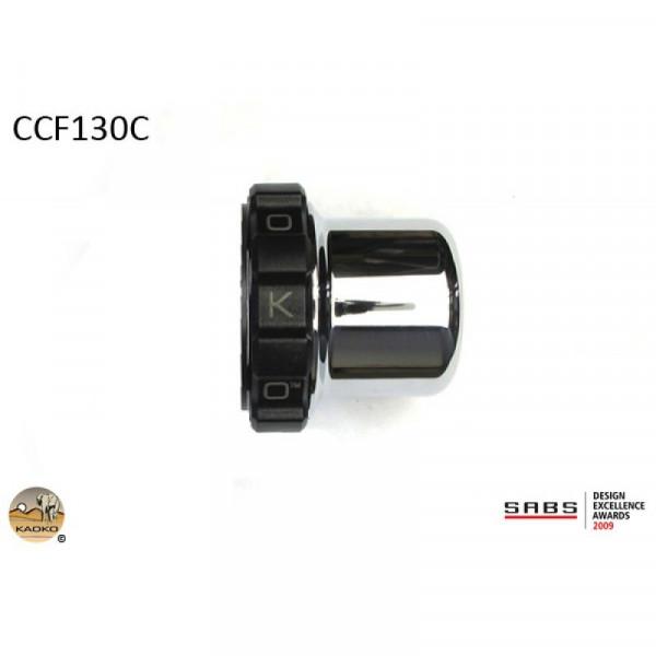 "Kaoko Gasgriff-Arretierung ""Drive Control"" für BMW BMW K1600GT / K1600GTL Chrom"