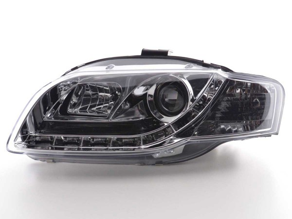 Scheinwerfer Daylight Audi A4 Typ 8E Bj. 04-08 chrom