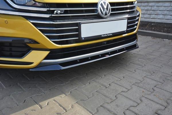 Front Ansatz Für V.2 VW ARTEON Schwarz Hochglanz
