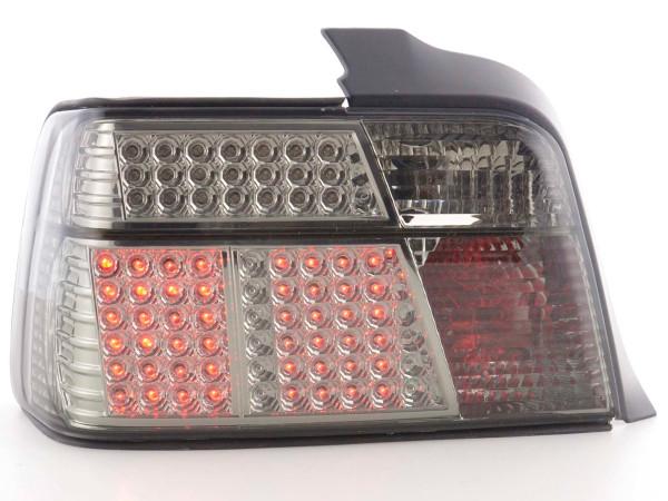 LED Rückleuchten Set BMW 3er Limousine Typ E36 91-98 schwarz/rot