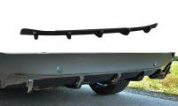 Diffusor Heck Ansatz Passend Für Mazda 6 GJ (Mk3) Wagon Schwarz Hochglanz