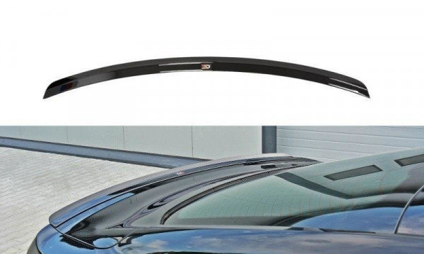 Spoiler CAP Passend Für FORD MUSTANG MK6 GT Schwarz Matt