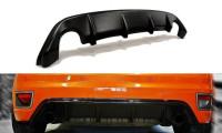 Diffusor Heck Ansatz Passend Für Ford Focus ST Mk2 Schwarz Hochglanz