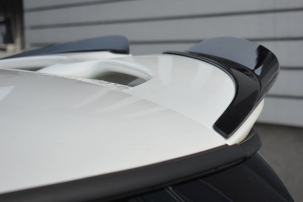 Spoiler CAP Für MINI COOPER S MK3 Vor Facelift 3-Türer (F56) Schwarz Hochglanz
