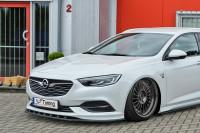 Cuplippe für Opel Insignia B OPC Line ab 2017- Ausführung: Matt schwarz