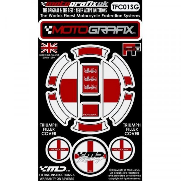 Motografix Tankdeckel Protektor Triumph Modelle TFC01SG
