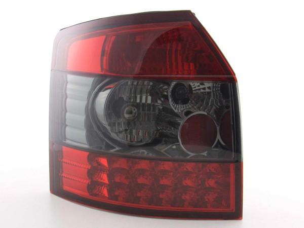 LED Rückleuchten Set Audi A4 Avant Typ 8E Bj. 01-04 schwarz/rot