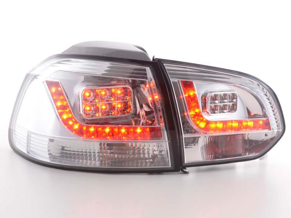 LED Rückleuchten Set VW Golf 6 Typ 1K 2008-2012 chrom