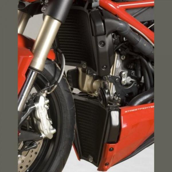 R&G Kühlergitter Set Wasser & Öl Ducati Streetfighter 848