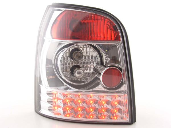 LED Rückleuchten Set Audi A4 Avant Typ B5 95-00 chrom