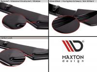 Diffusor Heck Ansatz Passend Für SEAT LEON MK3 CUPRA FACELIFT Carbon Look