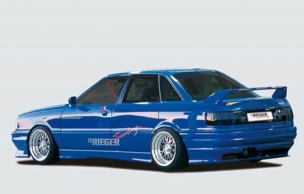Rieger Heckschürze für Audi 80 Typ 89 Lim. --> nicht für B4