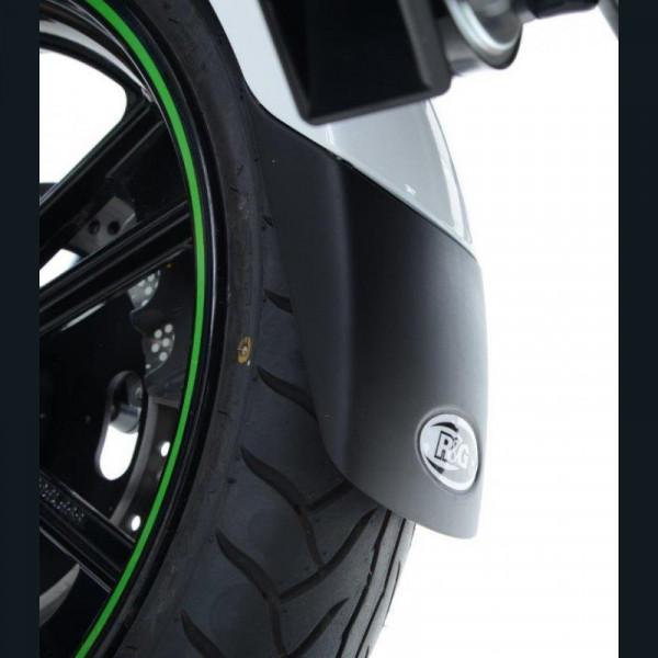 """R&G Kotflügel Verlängerung """"BLACK"""" Kawasaki Z 650 / Ninja 650 2017-"""