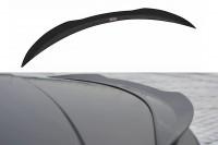 Spoiler CAP Passend Für JAGUAR XF X250 SPORTBRAKE Schwarz Hochglanz