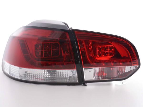 LED Rückleuchten Set VW Golf 6 Typ 1K Bj. 2008-2012 klar/rot