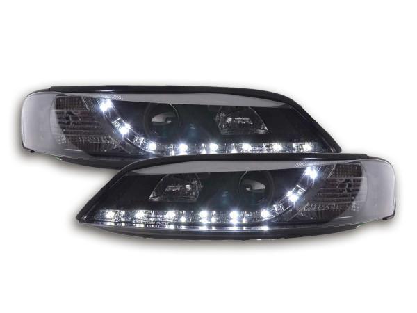 Scheinwerfer Set Daylight LED TFL-Optik Opel Vectra B 96-99 schwarz