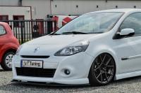Cuplippe Spoilerschwert ABS für Renault Clio 3 GT / Gordini Ausführung: Matt schwarz