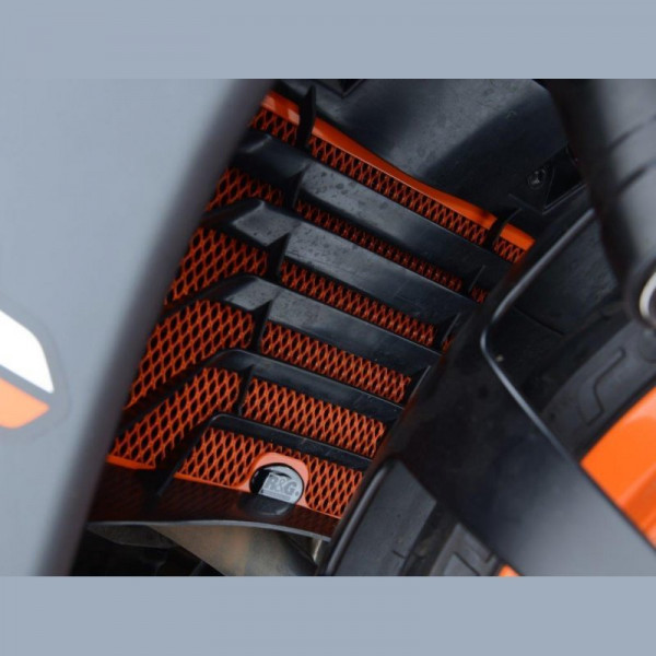 R&G Racing Kühlergitter Wasserkühler KTM RC 125 / 200 / 390