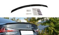 Spoiler CAP Passend Für Lexus GS Mk4 Facelift T Schwarz Hochglanz