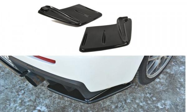 Heck Ansatz Flaps Diffusor Passend Für Mitsubishi Lancer Evo X Carbon Look