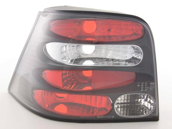 Rückleuchten Set VW Golf 4 Typ 1J 98-02 schwarz