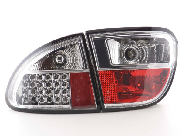LED Rückleuchten Set Seat Leon Typ 1M Bj. 1999-2005 chrom