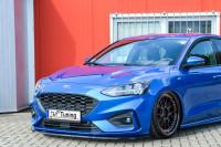 CUP Frontspoilerlippe für Ford Focus DEH ST-Line Bj. 2018- Ausführung: Matt schwarz