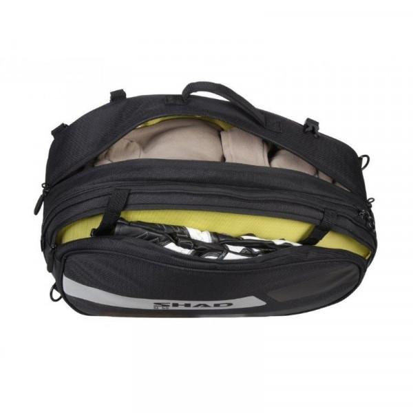 SHAD SL58 Großes PAAR Motorrad Seitentaschen / Koffer mit Reflektor