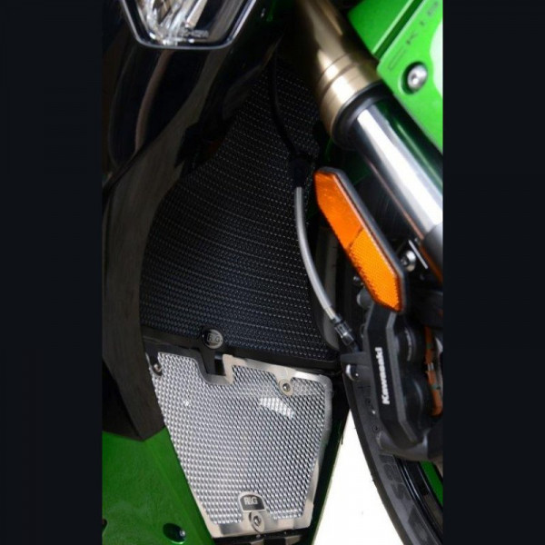 R&G Racing Kühlergitter Wasserkühler Kawasaki H2 SX 2018- / Z H2 2020-
