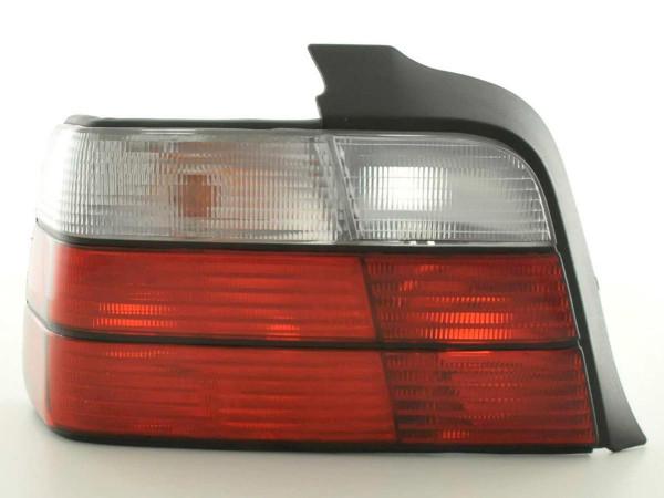 Rückleuchten Set BMW 3er Limo Typ E36 91-98 rot/weiß