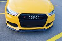 Front Ansatz Für Audi S1 8X Schwarz Hochglanz