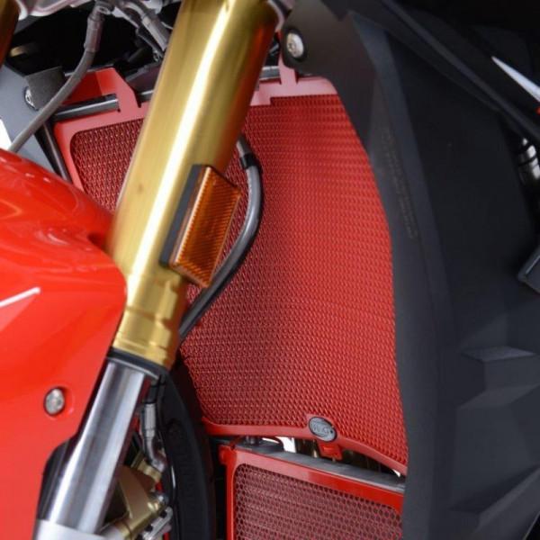 """R&G Racing Kühlergitter """"RED"""" Wasserkühler BMW S 1000 R 2017-"""
