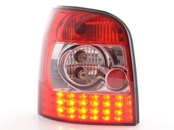 LED Rückleuchten Set Audi A4 Avant Typ B5 95-00 klar/rot