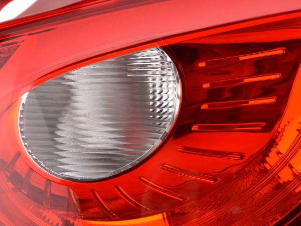 Zubehör Rückleuchte rechts Seat Ibiza 5-trg. Typ 6J Bj. 08- rot/klar