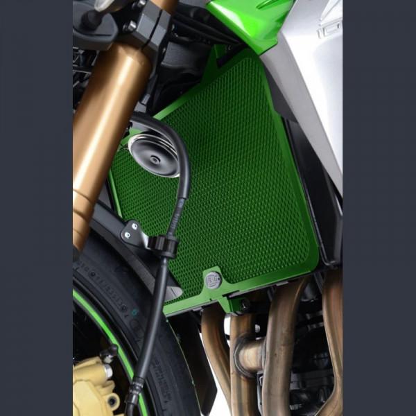 "R&G Racing Kühlergitter ""GREEN LINE"" Kawasaki Z 800 2013-"