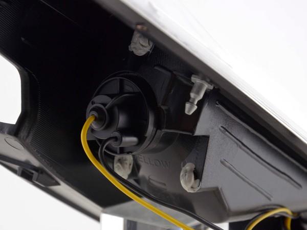 LED Rückleuchten Set Ford Focus 2 5-türig Bj. 04-07 chrom