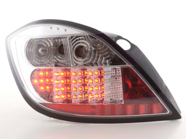 LED Rückleuchten Set Opel Astra H 5-trg 04- chrom