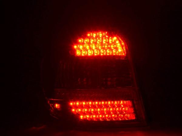 LED Rückleuchten Set BMW 1er Typ E87 5-türig Bj. 04-07 klar/rot