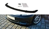 Front Ansatz Passend Für V.1 Infiniti G37 Limousine Schwarz Hochglanz