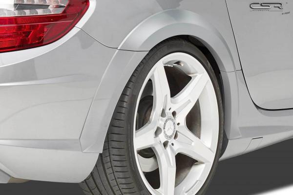 Kotflügelverbreiterung hinten für Mercedes Benz SLK / SLC R172 VB018