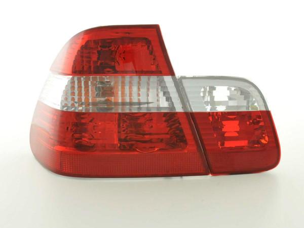 Rückleuchten Set BMW 3er Limo Typ E46 98-01 weiß/rot