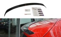 Spoiler CAP Passend Für Audi Q2 Mk.1 Schwarz Hochglanz