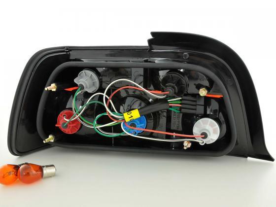 Rückleuchten Set BMW 3er Coupe Typ E36 Bj. 91-98 weiß