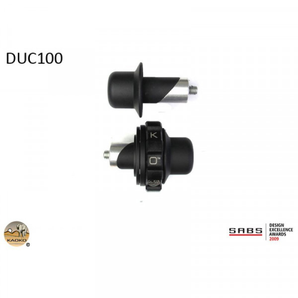 "Kaoko Gasgriff-Arretierung ""Drive Control"" für Ducati Modelle"