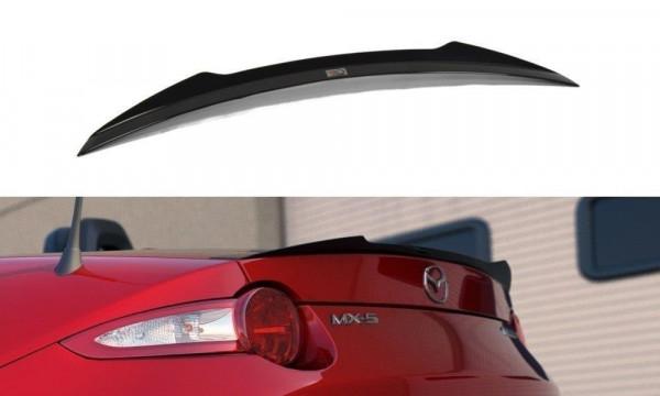 Spoiler CAP Passend Für Mazda MX-5 IV Schwarz Matt