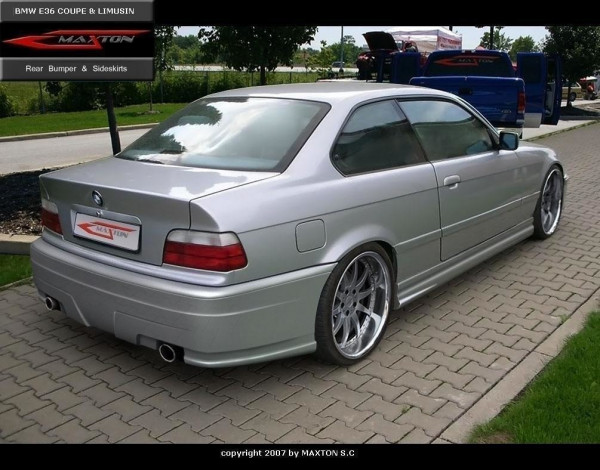 Heckstoßstange BMW 3er E36