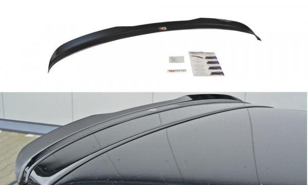 Spoiler CAP Passend Für Audi S3 8P FL Schwarz Matt