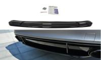 Mittlerer Diffusor Heck Ansatz Passend Für Audi RS7 C7 FL Schwarz Matt